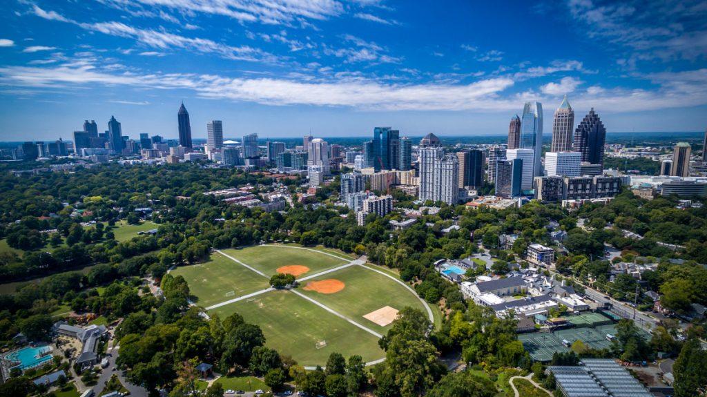 Midtown Atlanta's Piedmont Park